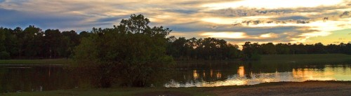 Sunset at Cooper Creek Park