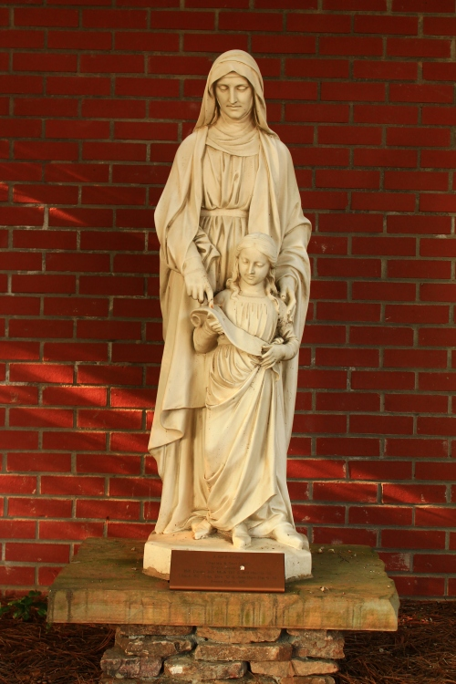Catholic Church Statue