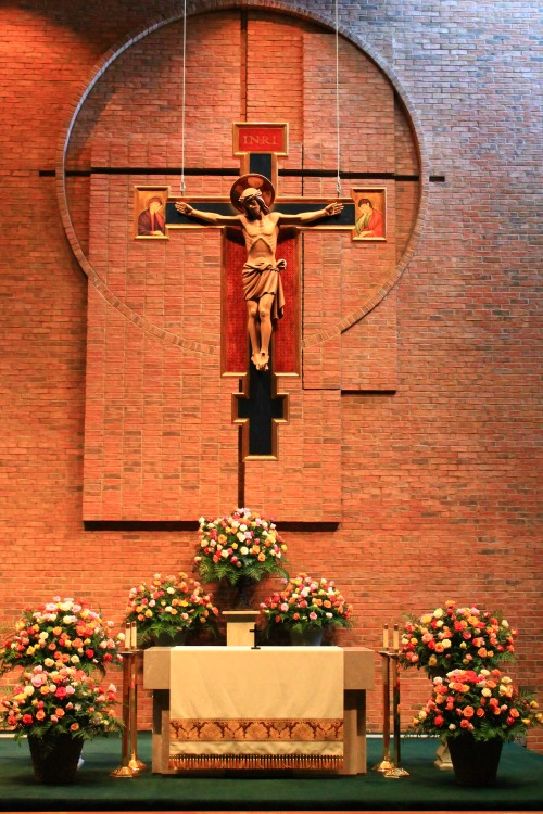 Altar and The Cross