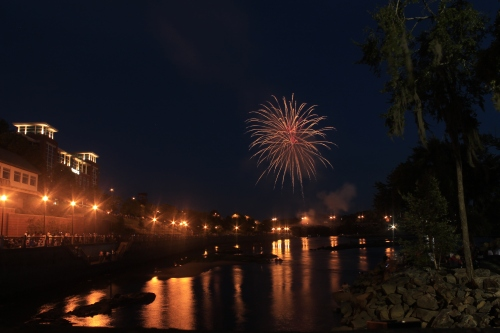 Fireworks over Columbus Georgia #1