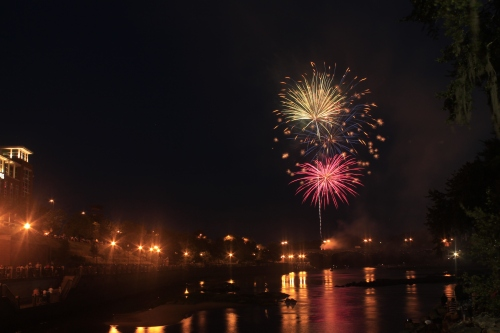 Fireworks over Columbus Georgia #10