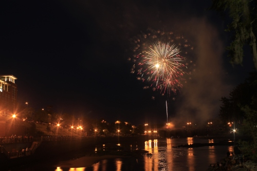 Photo of the Day - Fireworks over Columbus Georgia #20