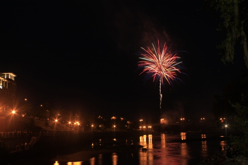 Fireworks over Columbus Georgia #35