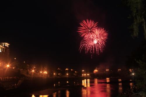 Fireworks over Columbus Georgia #37