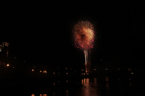 Fireworks over Columbus Georgia #43