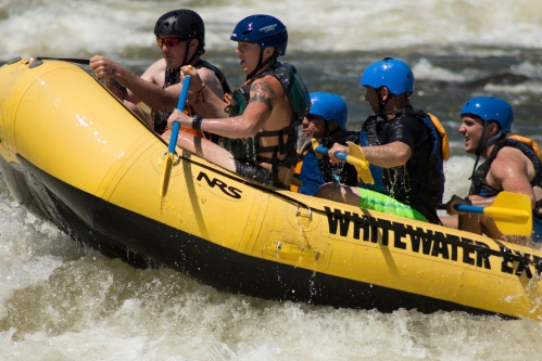The Whitewater Rafters
